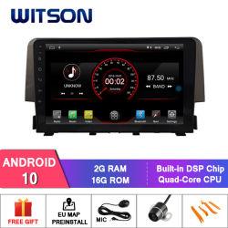 """Auto DVD des Witson 9 """" grosses Bildschirmandroid-10 für Honda Civic (1.0T niedrig) 2016"""