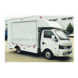 Dongfeng 4 * 2 mobiler Food Truck Bietet Chocolate Shaved Ice Smoothie (mobiler Speisewagen)