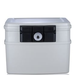 2162 إيداع صندوق القفل الآمن للمواد الهامة النار المياه الحماية