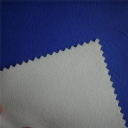 Camurça Microfibra Nubuck sintético PU superior em couro de PVC para calçado