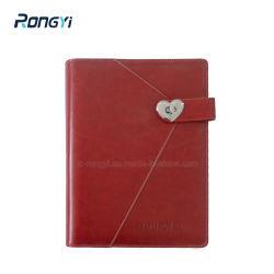 A5 6 Classeur à anneaux Planificateur de l'organiseur portable Agenda de la réunion