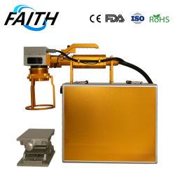 الصفقات الشهرية الشركة المصنعة الإيمان المحمولة ألياف الليزر آلة تمهيد المحمولة من أجل الرمز الشريطي