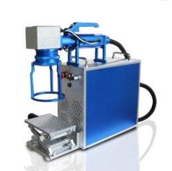 Günstige 50W 100W Uhr Zifferblatt Schmuck Pistolen auf Edelstahl Aluminium Kupfer Messing Laser Marking Handmaschine