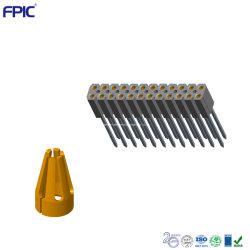 Закрепите женского контактный коннектор электронных Pogo контакт разъема блока цилиндров