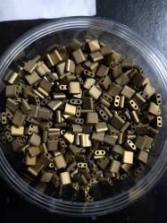 Стиль Tila 2 отверстий плоских швов Comparesharewholesale китайский стеклянные бусины для принятия решений ювелирных изделий и одежды 222#