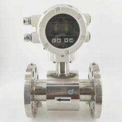 Electromagnéticas digital do Sensor do Fluxômetro Indicador para elevadores eléctricos de medição média