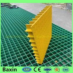 복합 플라스틱 몰드형 GRP/FRP 유리섬유 그레이팅