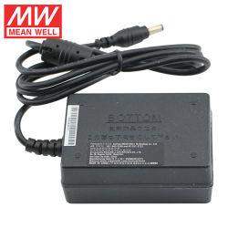 Meanwell GST18B12-P1J 18W 12V 1.5A hohe Zuverlässigkeits-industrielle Adapter-Schaltungs-Stromversorgung