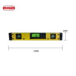 Eoutil strumento di misurazione automatico magnetico del livello di spirito di 18 Digitahi di pollice con 2 bolle Dl400
