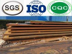 Lamiera/piastra in acciaio laminato a caldo ISO A36/Q255A/Sm400A/A709/E275b/S235jo acciaio al carbonio