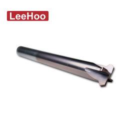 قطع من المطحنة الطرفية ذات الفتحات المصنوعة من الكربيد الصلب المخصصة للألومنيوم