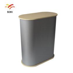 Impressão personalizada tradeshow materiais PP ABS Expositor para Expo portátil dobrável