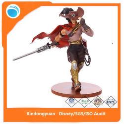 Lol de plástico de la leyenda de la Liga Brave Sword figura de acción de PVC