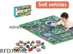 Vouwbaar Kruipend Tapijt met de Mat van de Baby van de Auto van de Doek