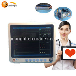 SpO2 parâmetros de PNI 12,1 polegadas do Monitor de Paciente