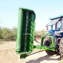 La France vente chaude Ce approuvé 80-120AGF220 HP tracteur attelé 2,2 m de largeur Verge de tondeuse à fléaux lourds de la faucheuse de brosse avec bras hydraulique