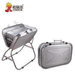 Groothandel Home Outdoor Mini Portable Folding BBQ Grill voor Camping