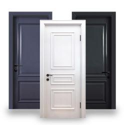 Moderni modelli nuovi Ready colori vernice interni HDF Solid Porte in legno