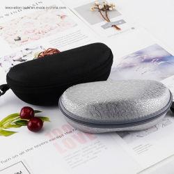 Paño de Oxford de alta calidad, buen Wear-Resistant EVA con cremallera resistente; gafas Gafas de sol con gancho de mochila