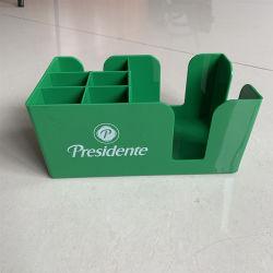 O Plástico Ecológico de marca personalizada Barware Acrílico Guardanapo Acessórios titular para Bar Restaurante