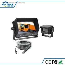 Ecran couleur LCD TFT 7 pouces Voiture de l'écran du moniteur système de caméra de marche arrière pour les bus remorque de camion