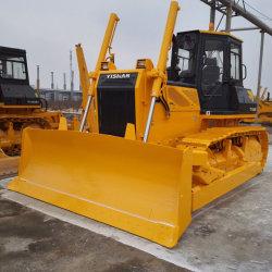 Yishan 160HP rupsdozer met rupsbanden, hydraulische bulldozer TY160G met lucht Conditioner/ripper/blad/ROPS-cabine