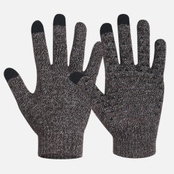 Mens de adultos de malha fina quente Magic luvas de lã térmica para o Inverno