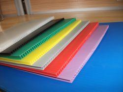 Высшее качество 6мм 8 мм толщиной 10мм 12мм красочные PP полой гофрированный пластиковый лист