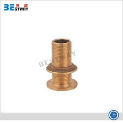 Conexão de pele de bronze para Marine /Bronze nas conexões do tanque de água
