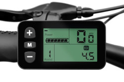 Elektrische fietsconversiekit voor de voorwielmotorcontroller met LCD Weergave
