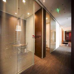 Dubbelglas, geluidsdicht kantoor, volledige hoogte, met sluiter