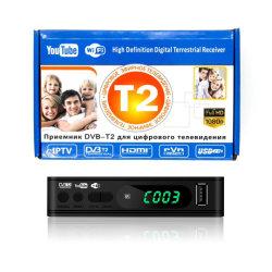 Nuovo ricevitore terrestre di alta qualità in plastica Mini T2 DVBT2