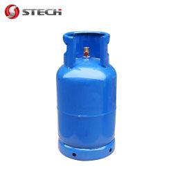 Bottiglia del serbatoio della bombola per gas del butano del propano del peso di veccia del Ce ISO4706 BV 12.5kg del PUNTINO 15kg GPL