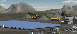 Venta caliente 30kw Panel Solar Aerogenerador ajustado