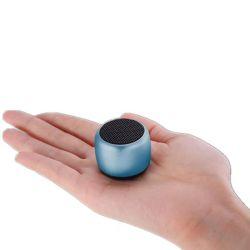 هاتف محمول مستدير سماعة Bluetooth هاتف محمول لاسلكي صغير لاسلكي محمول بدون استخدام اليدين مكبر الصوت