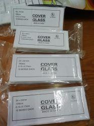 Vetro di coperchio del microscopio (tutto il formato)