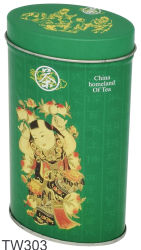 Té especial de forma irregular hermoso café empaquetado de alimentos tin box