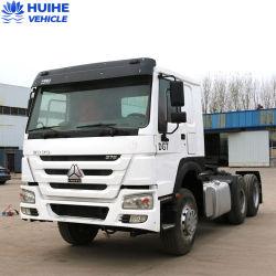 Usa HOWO tractor camión tractor usado camioneta 6X4 de la cabeza de los camiones pesados del eje 3