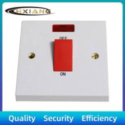 BS 1 токопроводящей дорожки 45A Dp электрические лампы настенный переключатель с неоновыми индикаторами ожидающего