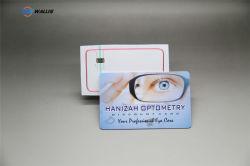 PC de PVC de plástico PET pré-impresso ID de Smart Cards para Cartão Cartão pré-pago cartão multibanco tarjas magnéticas feita de cartão de folha de PVC