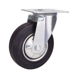 8-дюймовый поворотный Европы промышленного типа резиновой самоустанавливающиеся колеса