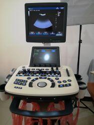شاشة تعمل باللمس مقاس 19 بوصة رباعية الأبعاد، جهاز الموجات فوق الصوتية، جهاز تروللى طبي، أجهزة الموجات فوق الصوتية Mslcu46
