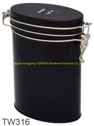 Douane om Tin voor de Verpakking van het Voedsel, de Doos van het Tin van de Gift van het Metaal, het Blik van het Tin van het Koekje