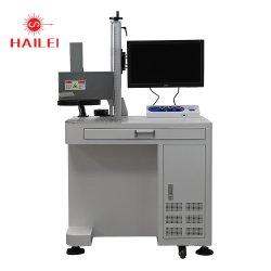 Laser-Markierungs-Drucken-Maschinen-Gerät der CCD-Sichtknall-(simultane Lokalisation und Abbilden) Faser-100W für Fliegen oder multi Markierung