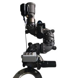 Электрический алюминиевый корпус с дистанционным управлением пожарной пушку для погрузчика (PSKD30-AL)