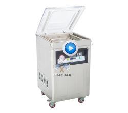 Industrielle vertikale trockene Fisch-Sealer automatische Vakuum-Verpackungsmaschine