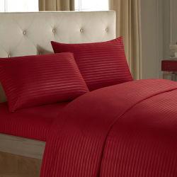 Une bande de satin de coton de la literie de couleur définie pour l'hôtel /home
