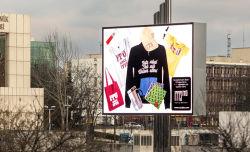 A todo color P8mm LED de exterior de la pared de vídeo/LED Cortina Billboard/LED Pantalla de visualización de publicidad para eventos