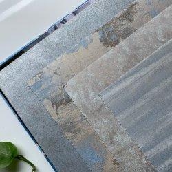 Chinoiseries Home Wall Art Déco de peintures murales de papier peint à motifs floraux étanche Jacquard Revêtement mural de la chambre