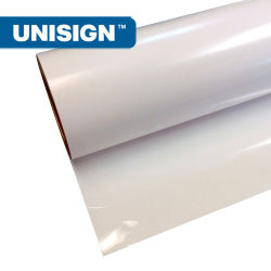 Piscina Brilhante Impressão Solvente ecológico de PVC/Branco Mate Vinil auto-adesiva PVC Rolo de vinil